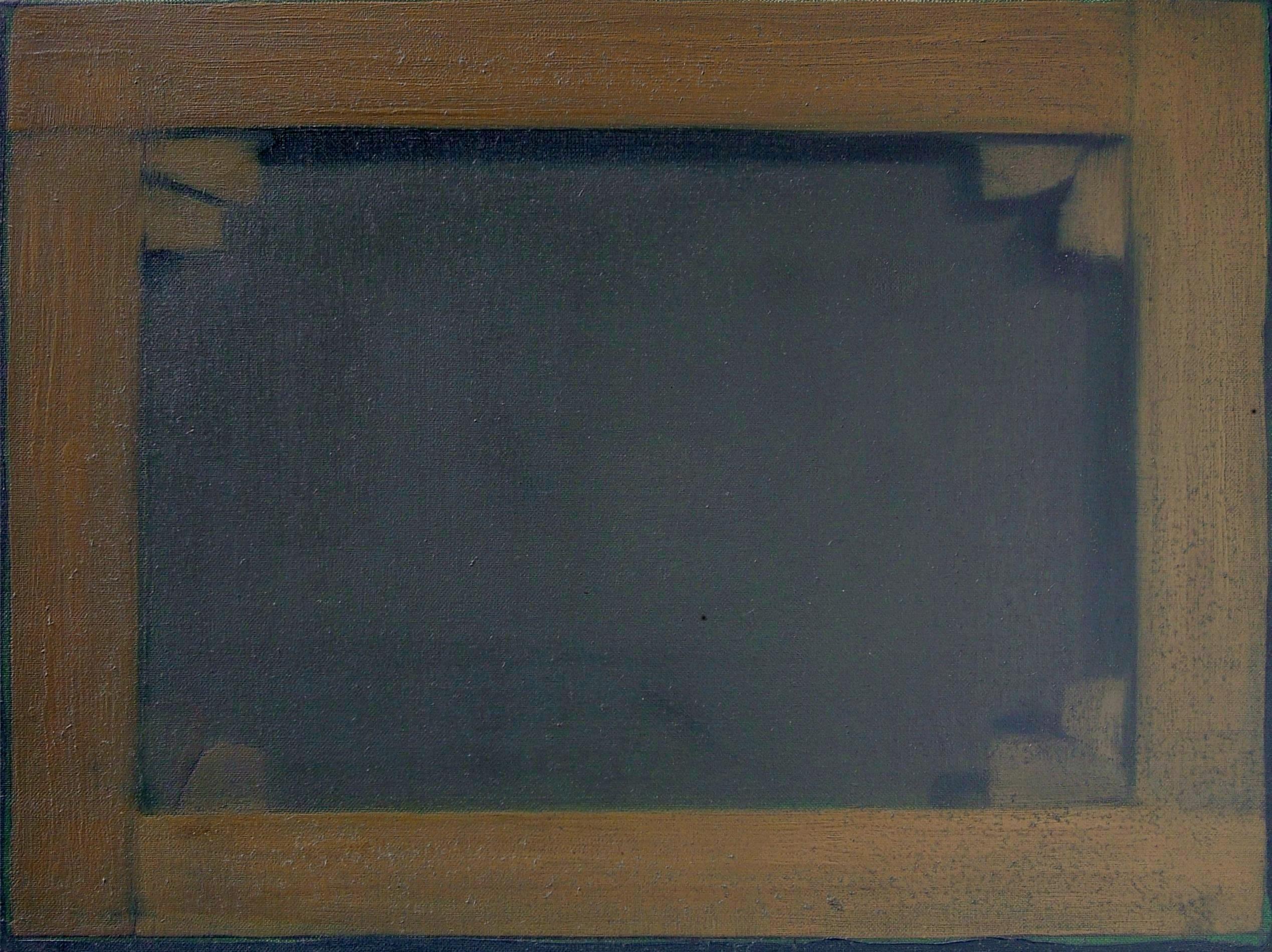 Oportuit haec facere et alia non omittere, olio su tela, cm 30x40, 2008